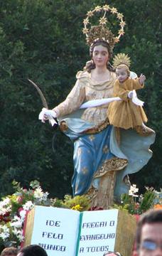 panfleto Festa de Nossa Senhora da Pena