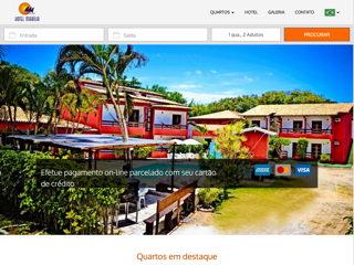 panfleto Marília Praia Hotel