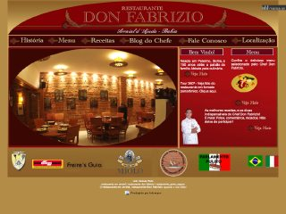 panfleto Restaurante Don Fabrizio