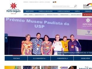 panfleto Portal Educacional do Colégio Visconde de PS