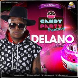 panfleto Candy Party Fantasy - Mc Delano