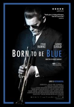 panfleto 'Born to Be Blue'