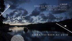 panfleto AWÊ - Réveillon Caraíva 2018