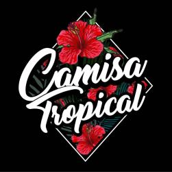 panfleto Camisa Tropical