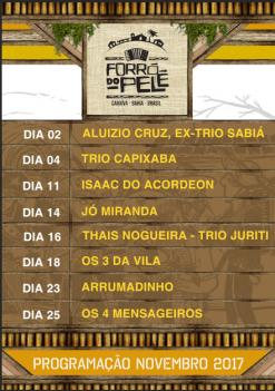 panfleto Thais Nogueira - Trio Juriti