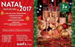 panfleto Festa de Natal - Saan Vagner e DJ Renê Costa
