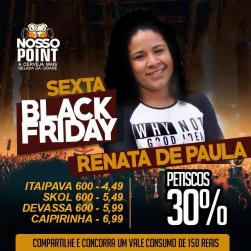 panfleto Black Friday - Renata de Paula