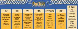 panfleto One Love Festival Caraíva - Sem Censura