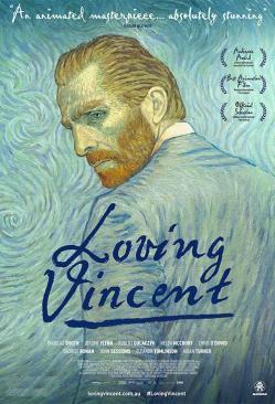 panfleto 'Com amor, Van Gogh'