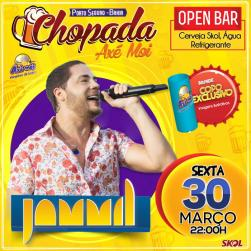 panfleto Chopada com Jammil