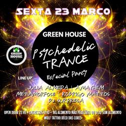 panfleto Psychedelic Trance Especial Party