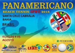 panfleto Panamericano de Beach Tennis IFBT