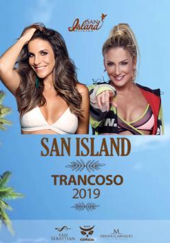 panfleto San Island 2019 - Ivete Sangalo + Claudia Leitte