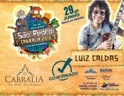 panfleto São Pedro Cabrália 2018 - Luiz Caldas