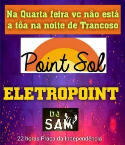 panfleto Eletropoint - Dj Sam