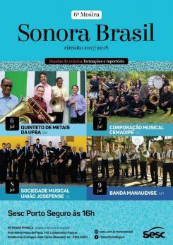 panfleto Sonora Brasil