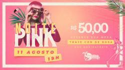 panfleto Noite Pink