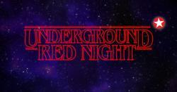 panfleto Underground Red Night