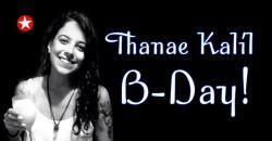 panfleto Thanae Kalil B-Day