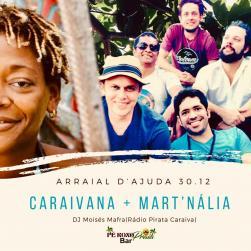 panfleto Caraivana convida Mart'nália