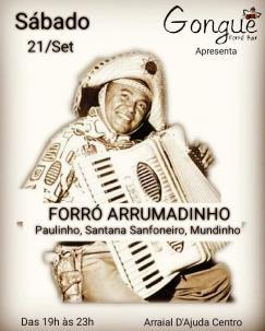 panfleto Forró Arrumadinho