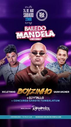 panfleto Baile do Mandela
