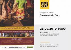 panfleto 'Caminhos do Coco'