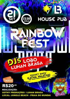 panfleto Rainbow Fest 2019