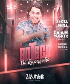 panfleto Boteco do Rapazinho - Saan Vagner