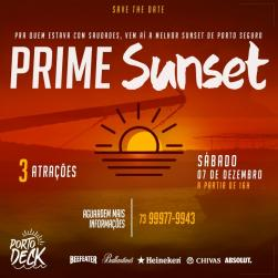 panfleto Prime Sunset