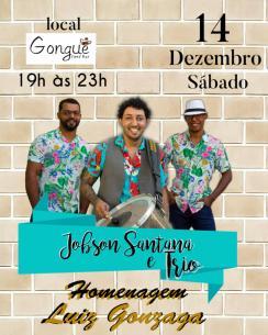 panfleto Jobson Santana e Trio