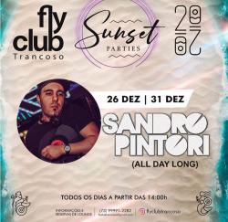 panfleto FlyClub Sunset Parties: Sandro Pintori