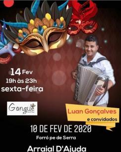 panfleto Luan Gonçalves e convidados