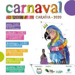 panfleto Bloco das Caretas convida Cajuínas