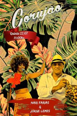 panfleto Nari Farias & Jorge Leme