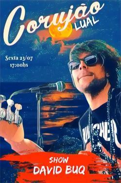 panfleto Corujão Luau - Davi Buq