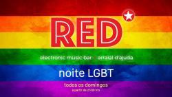 panfleto Noite LGBT
