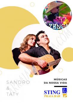 panfleto Tati & Sandro