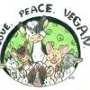 panfleto Café da tarde vegano