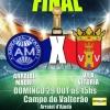 panfleto Final do Campeonato: Arraial Madri x Vila Vitório