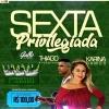 panfleto Sexta Privilegiada - Thiago Alcântara / Karine Ramos