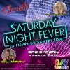 panfleto Saturday Night Fever