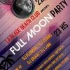 panfleto Full Moon Party