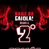 panfleto Baile da Gaiola