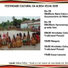 panfleto Festival Cultural da Aldeia Velha 2019