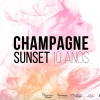 panfleto Champagne Sunrise - A Toast to Life