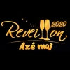 panfleto Réveillon Axé Moi 2020 - Turma do Pagode, Iza, Harmonia do Samba