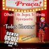 panfleto Teatro na Praça: