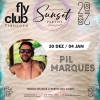 panfleto FlyClub Sunset Parties: Pil Marques