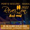 panfleto Réveillon Axé Moi 2022 - Zé Neto & Cristiano + 1 Atração